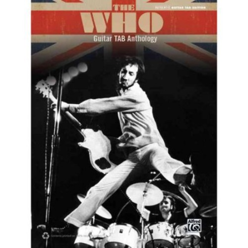 The Who: Guitar Tab Anthology, Authentic Guitar Tab Edition