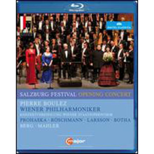Salzburg Opening Concert 2011 [Blu-ray] WSE 2/DHMA