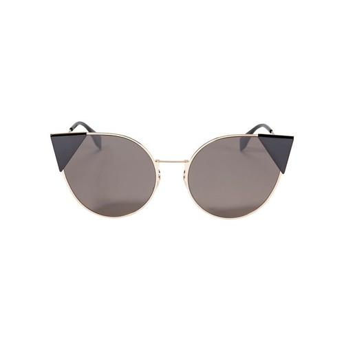 FENDI Flat Cat Eye Sunglasses