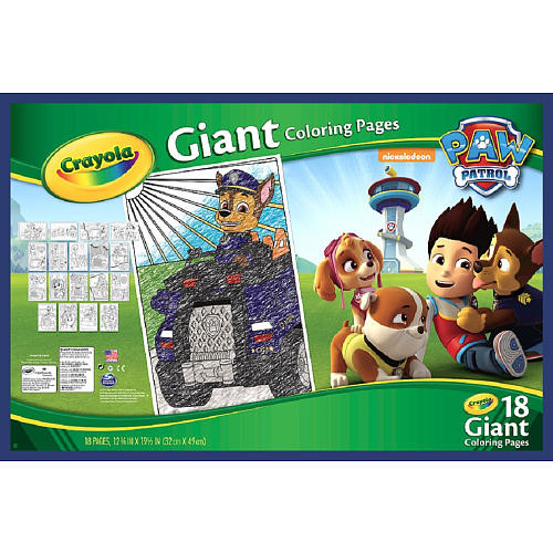 Crayola(R) Giant Coloring Pages - Paw Patrol