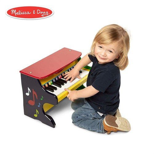 Melissa & Doug Learn-To-Play Piano With 25 Keys and Color-Coded Songbook [Standard Version]