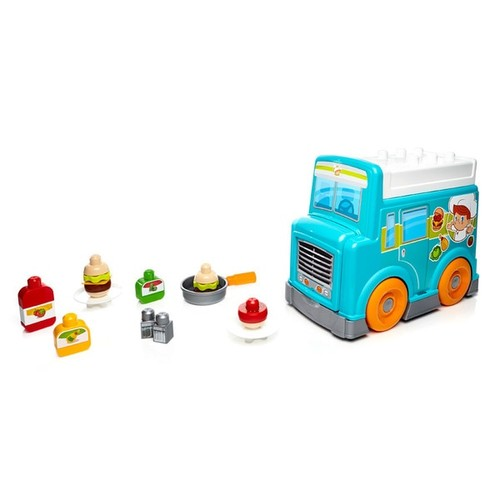 Mattel Mega Bloks First Builders Food Truck Kitchen