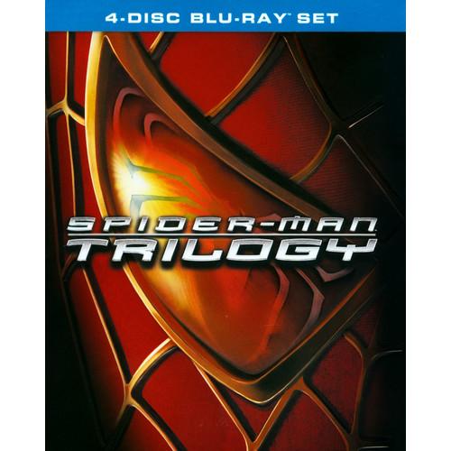 Spider-Man/Spider-Man 2/Spider-Man 3 [4 Discs] [Blu-ray]