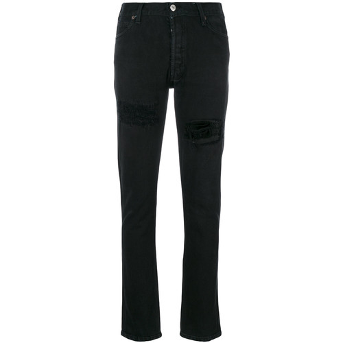 RE/DONE Distressed Slim Fit Jeans
