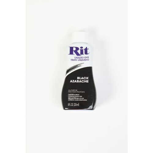 Rit Liquid Dye, Black 15 8 fl oz (236 ml)