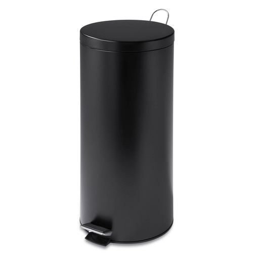 Honey Can Do 30-Liter Round Can with Liner, Multiple Colors