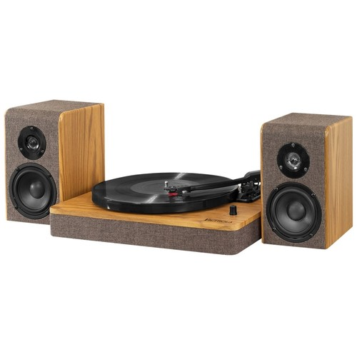 Victrola - Bluetooth Stereo Turntable - Brown