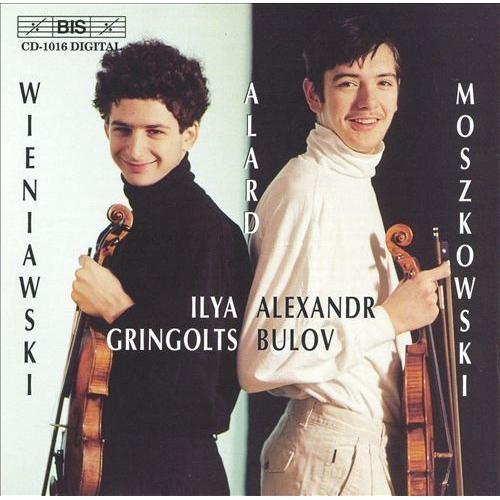 Ilya Gringolts & Alexander Bulov play Henryk Wieniawski, Jean-Delphin Alard & Moritz Moskowski [CD]