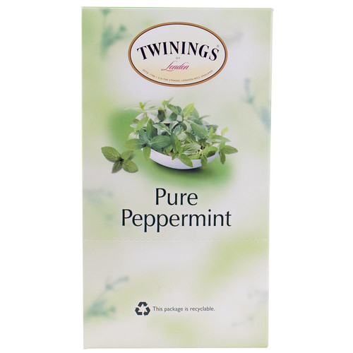 Twinings Naturally Caffeine Free Tea K-Cups Pure Peppermint -- 24 K-Cups
