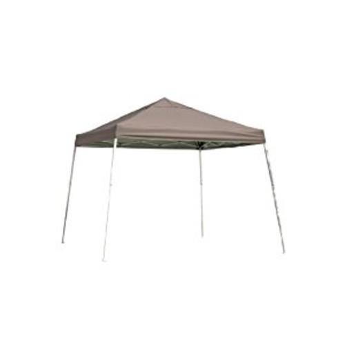 12x12 Slant Leg Pop-up Canopy, Green Cover, Black Roller Bag [DESERT BRONZE, 12 x 12-Feet]