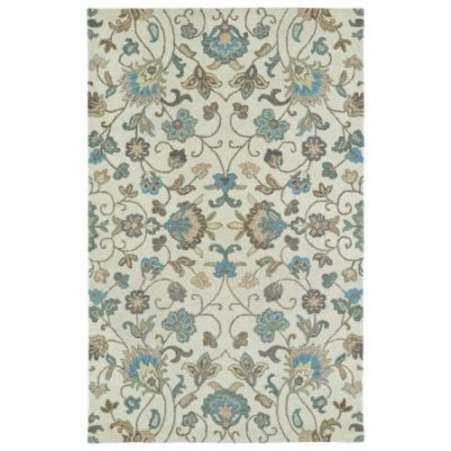 Kaleen Helena Beige 5 ft. x 7 ft. 9 in. Area Rug
