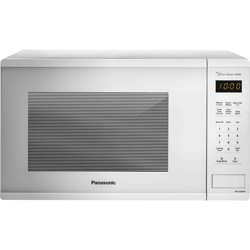 Panasonic - 1.3 Cu. Ft. Mid-Size Microwave - White