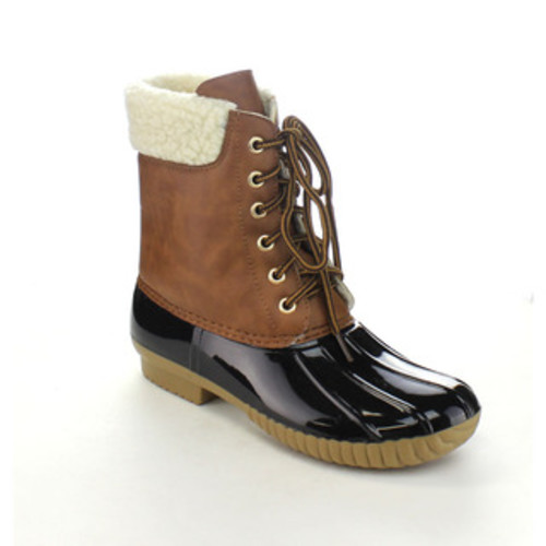Nature Breeze Duck-02 Women's Lace-up Waterproof Insulated Boots