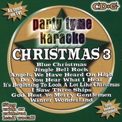 Party Tyme Karaoke: Christmas, Vol. 3 [CD]
