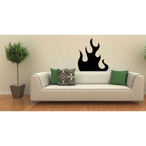 'Beautiful Flame' Vinyl Wall Art
