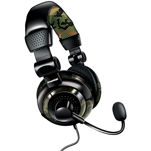 dreamGEAR Universal Elite Amplified, Wired Stereo Gaming Headset for PS4, XBOX One, PS3, XBOX 360, Wii, WiiU, and even PC [9.30in. x 8.20in. x 4.10in.]