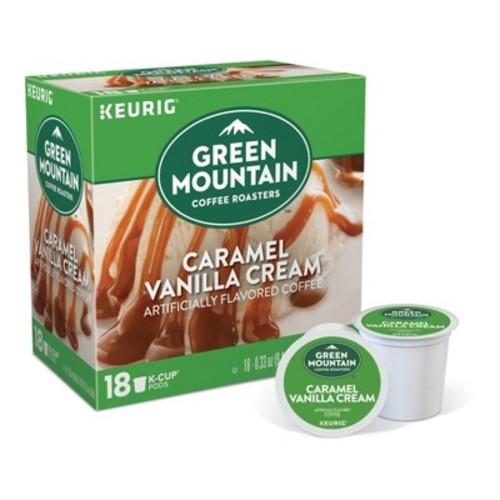 Green Mountain Caramel Vanilla Cream Coffee - K-Cup Pods - 18ct