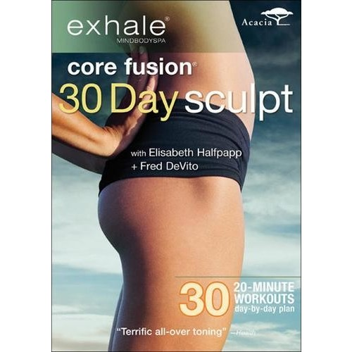Exhale: Core Fusion - 30 Day Sculpt [DVD] [2012]