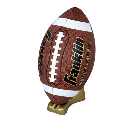 Franklin Sports Grip-Rite Pump and Tee Football Set - Official