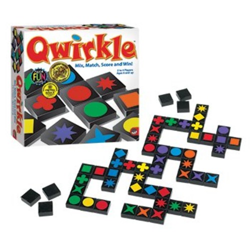 MindWare Qwirkle Mix Match Score Mensa Select Boad Game