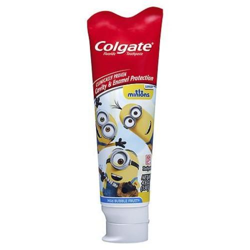 Colgate Kids Minions Toothpaste Mild Bubble Fruit