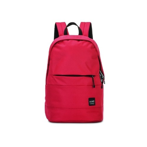 Pacsafe Slingsafe LX300-Chili Anti-theft Backpack w/ RFIDSafe Pockets & Material