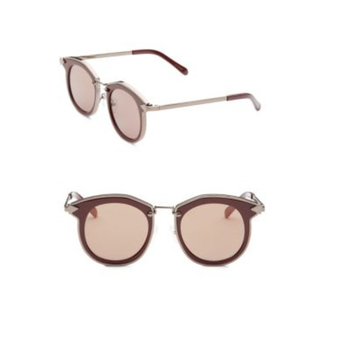 Bounty 47MM Round Sunglasses