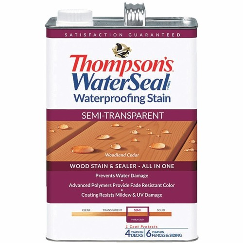 Thompson's WaterSeal Thompsons WaterSeal Semi-Transparent Waterproofing Stain - TH-042851-16