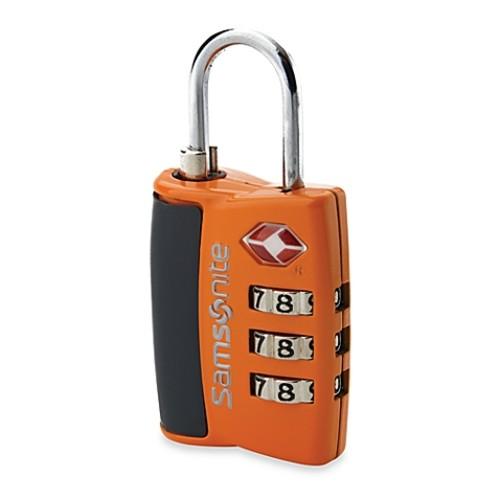 Samsonite Travel Sentry 3-Dial Combination Lock