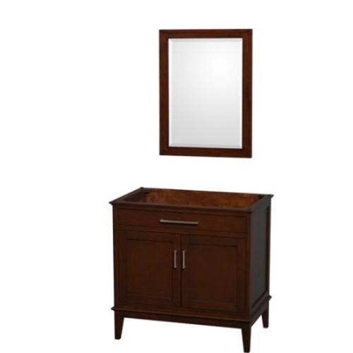 Hatton Collection 36 in Single Bathroom Vanity in Dark Chestnut [WCV161636SCDCXSXXM24]