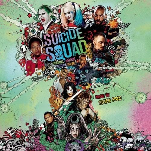 Steven price - Suicide squad (Ost) (Vinyl)
