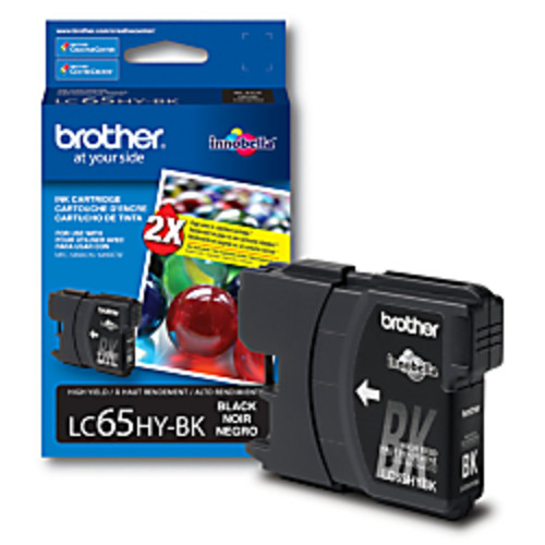 Brother LC65HY-BK, High-Yield Black Ink Cartridge