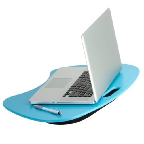 Honey Can Do Lap Desk with Built-In Handle, Teal