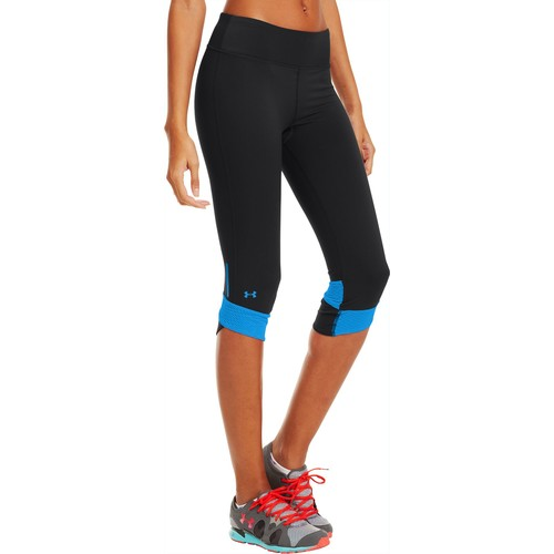 Under Armour Women's UA Fly-By Compression Capris