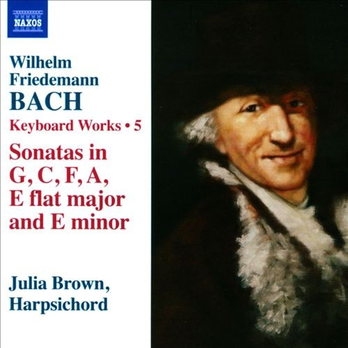 Wilhelm Friedemann Bach: Keyboard Works, Vol. 5 [CD]