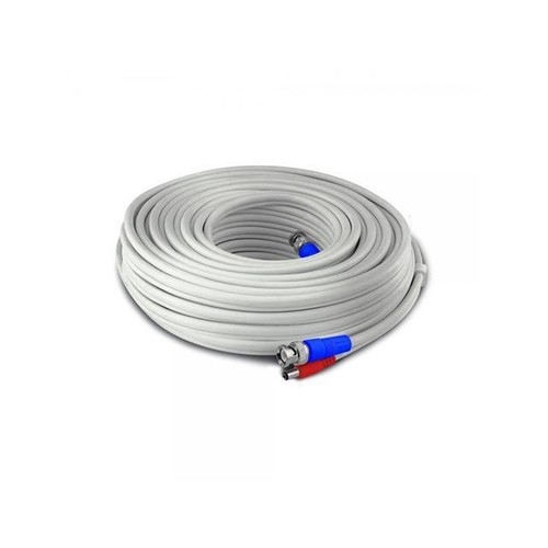 SWANN SWPRO 15MTVF GL Fire Rated BNC Video Power Extension Cable 50ft