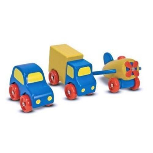 Melissa & Doug First Vehicles Set (Doba28575)