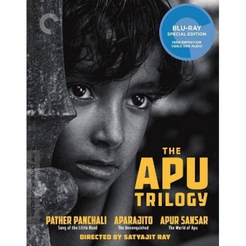 The Apu Trilogy [Criterion Collection] [Blu-ray] [3 Discs]