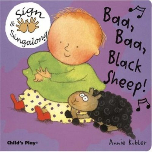 Cicso Independent Sign & Sing along - Baa- Baa- Black Sheep Board Book (HRSC1264)