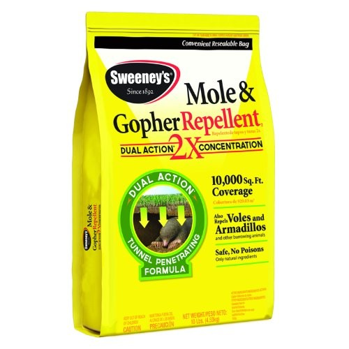 Sweeney'S 7002 Mole and Gopher Repellent, Granular, 10-Pound 40;not avalibale in NM41;