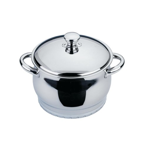 BergHOFF Zeno 4 Qt. 18/10 Stainless Steel Dutch Oven with Lid