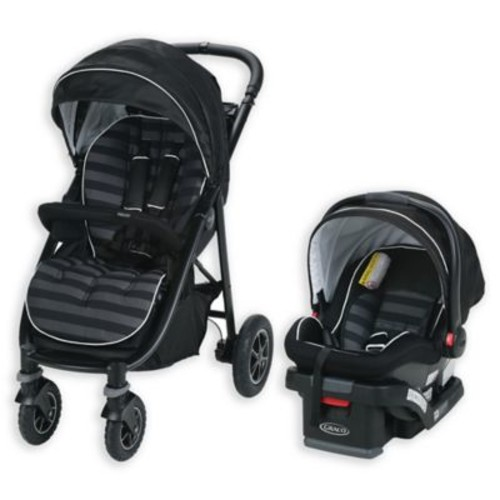 Graco Aire4 Platinum Travel System in Rockweave