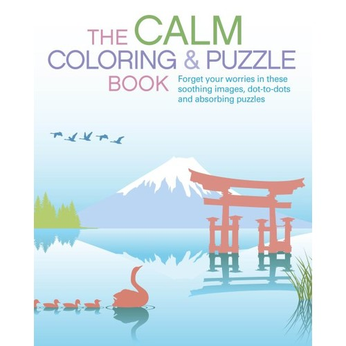 The Calm Coloring & Puzzle Book (Paperback)