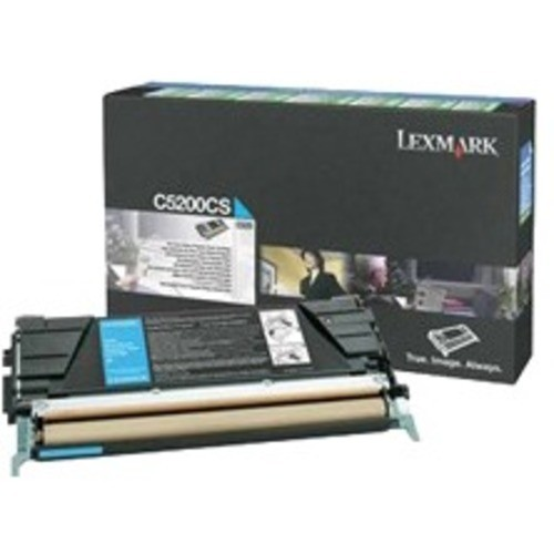 Lexmark C5226KS Cyan Toner GSA C52x Return Program Cyan Cartridge