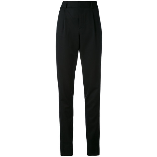 SAINT LAURENT High Waist Tailored Trousers