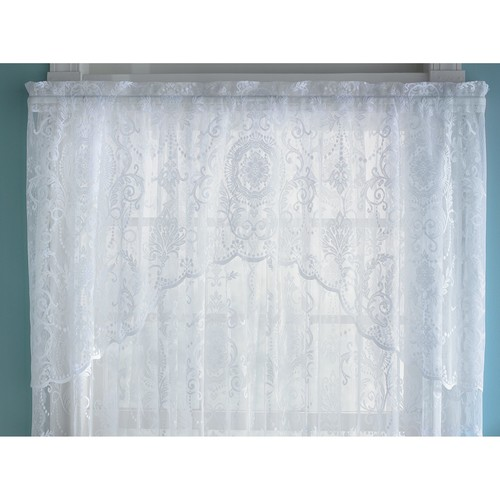 Coraline Lace Window Valance Curtain