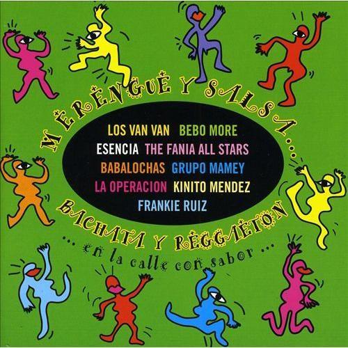 Merenque Y Salsa-Bachata Y Reggaeton-En La Calle Con Sabor [CD]