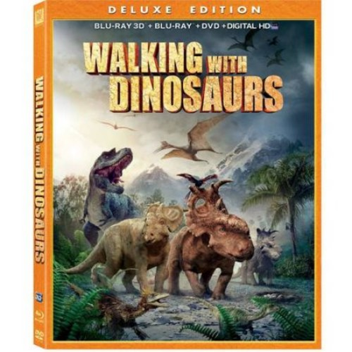 Walking With Dinosaurs (3D Blu-ray + Blu-ray + DVD + Digital HD) (With INSTAWATCH) (Widescreen)
