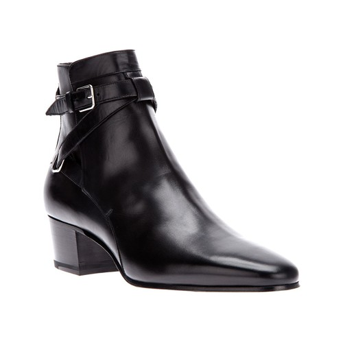 SAINT LAURENT Strap Fastening Ankle Boot