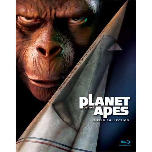 Planet of the Apes: 5-Film Collection [5 Discs] [Blu-ray]